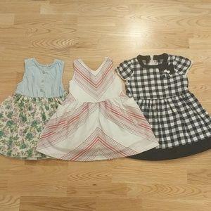 ❤3 Dresses Bundle 2T-4T ❤